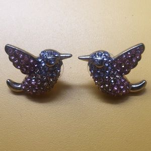 Betsey Johnson Hummingbird Earrings